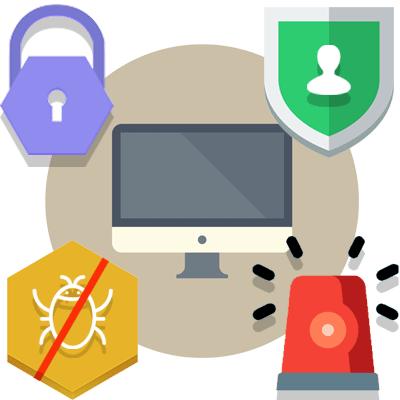 per garantire la sicurezza IT offriamo Backup dei dati, Firewall, sistemi ids e antivirus